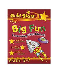 Gold Stars Big Fun Learning Workbook Ages 5- 7