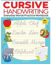 Cursive Handwriting Everyday Words