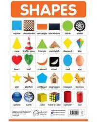 My First Early Learning Educational poster: Shapes