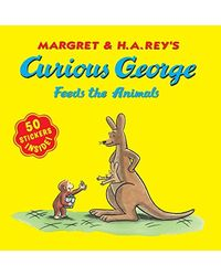 Curious George Feeds The Animals: Sticker Book