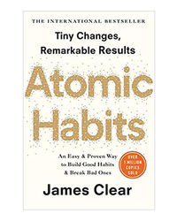 Atomic Habits: The Life- Changing Million Copy Bestseller