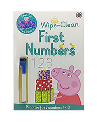 Peppa Pig: Practise With Peppa Wipe- Clean First Numbers: Practise With Peppa Wipe- Clean Numbers