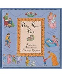 Baby Record Book: Blue