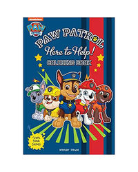 Here To Help! : Paw Patrol Giant Coloring Book For Kids
