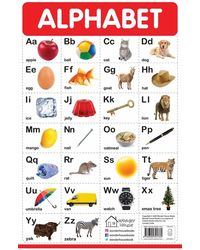 My First Early Learning Educational poster: Alphabet
