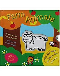 Farm Animals: Magic Colour Book