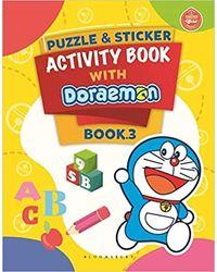 Puzzle & Sticker With Doraemon Activity Book 3