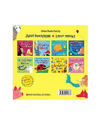 Julia Donaldson And Lydia Monks X 8 Glitter Books Pack