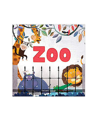 Zoo- Illustrated Book On Zoo Animals (Let's Talk Series)