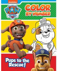 Pups To The Rescue: Paw Patrol Color By Number