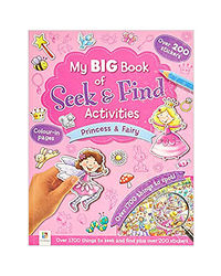 My Big Book Of Seek & Find Activities Princess & Fairy