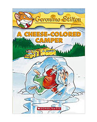Geronimo Stilton: # 16 Cheese- Colored Camper