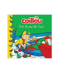 Caillou- Puts Away His Toys