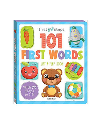 101 First Words Lift A Flap Book