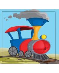 Cutout Board Book: Train