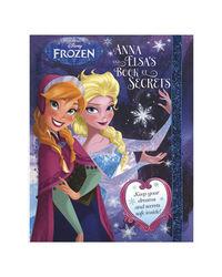 Disney Frozen Anna And Elsa's Book Of Secrets