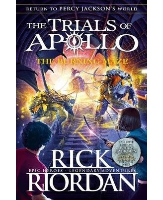 The Burning Maze He Trials Of Apollo)