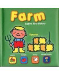 Yo Babys First Library Farm