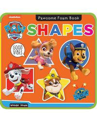 Pawsome Foam Books- Shapes: Paw Patrol