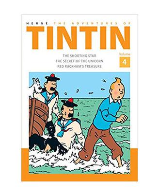 The Adventures Of Tintin Vol 4