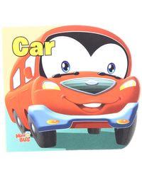 Cutout Board Book: Car