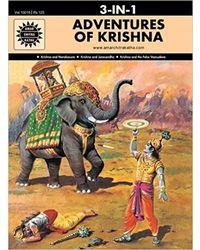 Adventures Of Krishna: 3 In 1