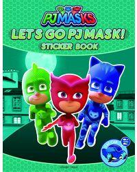 Let's Go Pj Masks Stickers Book