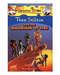 Thea Stilton: # 2 Thea Stilton And The Mountain Of Fire