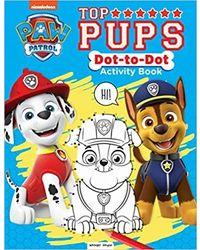 Paw Patrol Top Pups Dot To Dot Activity