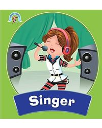 Professions Square Book: Singer