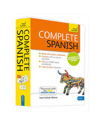 Complete Spanish Beginner To Intermediate Book