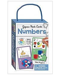 Numbers Building Blocks Jigsaw Flash Cards