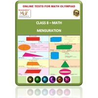 Class 8, Mensuration, Online test for Math Olympiad