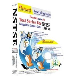 Class 7- NSTSE Olympiad preparation- (1 CD Pack)