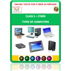 Class 3, Types of computers, Online test for Cyber Olympiad