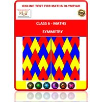 Class 6, Symmetry, Online test for Math Olympiad