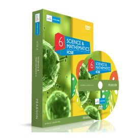 Edurite- ICSE DVD Pack- Class 6