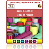 Class 6 Science worksheets- Fiber to Fabrics