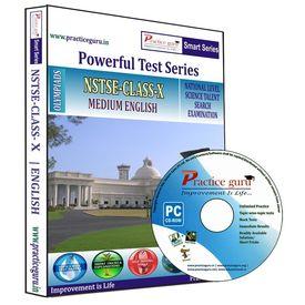 Class 10- NSTSE Olympiad preparation- Powerful test series (CD)