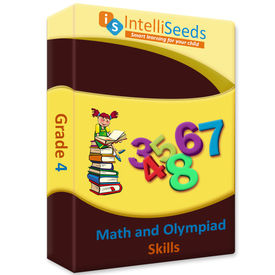 Class 4- Online Practice for Math Olympiads (With Reasoning) - 3 months- Intelliseeds