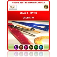 Class 4, Geometry, Online test for Maths Olympiad