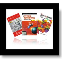 Class 7- BMA's Cyber resource book+ Model papers+ Reasoning trainer (With solution book)