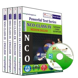 Class 9- IMO NSO NCO IEO Combo CD- Pack for Olympiad preparation