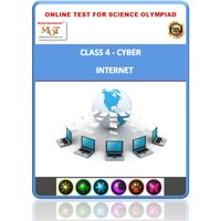 Class 4, Introduction to internet, Online test for Cyber Olympiad