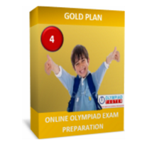 Class 4, Gold Plan, NSO Preparation (Live mock tests, online sample tests, printable worksheets)
