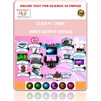 Class 4, Input/Output devices, Online test for Cyber Olympiad