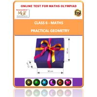 Class 6, Practical Geometry, Online test for Math Olympiad