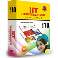 Class 10- IIT foundation, Combipack (Set of 4 books) + Free Online test for Science or Math (Worth Rs 400)