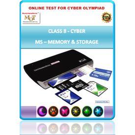 Class 8, Memory & Storage, Cyber Olympiad Online test