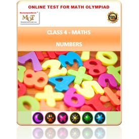 Class 4, Numbers, Online test for Maths Olympiad